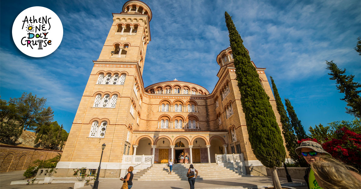 The miraculous Saint Nektarios of Aegina | One Day Cruise